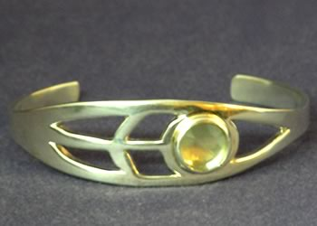 """Deco Cuff"" bracelet by Joy Raskin"