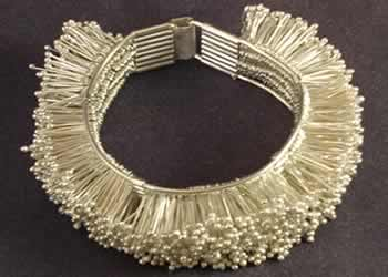 """Silver Hedgehog"" bracelet by Joy Raskin"