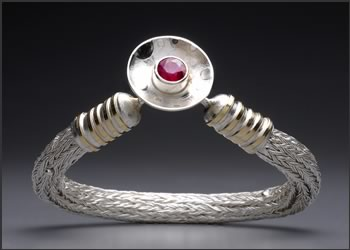 Transcendence Bangle, a bracelet by Joy Raskin