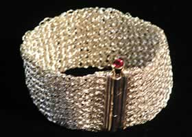 Bracelet made by Joy Raskin